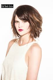 short textured hairstyle for thick hair medium hairstyles