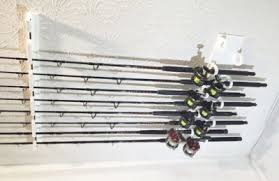Ceiling Mount Rod by Ceiling Mount Big Game Rod Holder For 10 Fishing Rods And Reels