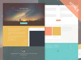 download layout html5 css3 starnight free responsive html one page template free download