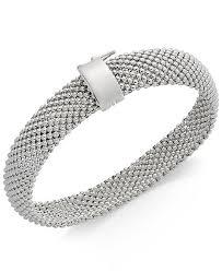 bracelet mesh silver sterling images Italian gold sterling silver bracelet mesh bracelets jewelry tif