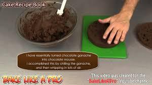 chocolate sponge cake recipe with dark chocolate ganache recipe