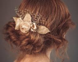 bridal hair flowers wedding hair flower etsy