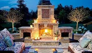 Outdoor Patio Fireplaces Backyard Fireplaces Fab Prefabs