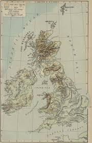 Map Of The British Isles Isles Physical Map