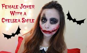 easy dark knight joker makeup diy chelsea smile halloween