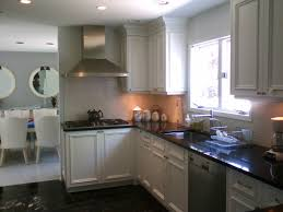 Small Kitchen With White Cabinets Small Kitchen Paint Colors 2017 Trendyexaminer