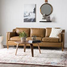 sofa canapé palm canape 86 inch oxford honey leather sofa free shipping