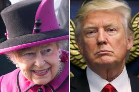 do the queen and the royal family president trump