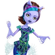 monster high great scarrier reef glowsome ghoulfish clawdeen wolf