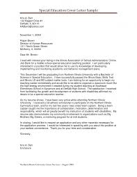 best ideas of cover letter special education aide on proposal
