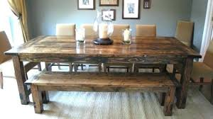 dining room sets with bench bench table dining room magnolia traditional dining room table bench