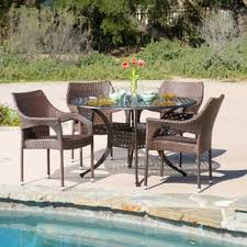 Wicker Patio Dining Sets Wicker Patio Dining Sets You U0027ll Love Wayfair