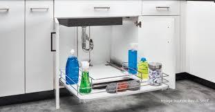 sink kitchen cabinet organizer 9 best kitchen sink storage organizers woodworkeraccess