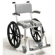 Shower Chair On Wheels Multichair Manual Toilet Shower Wheelchair 24