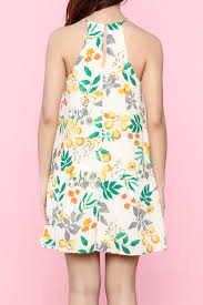 100 yellow floral dress whimsical dress thanksgiving dress
