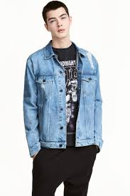 Light Denim Jacket Denim Jacket Light Denim Blue Men H U0026m Ca
