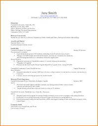 computer science internship resume sample coursework sample sample cv of medical doctors