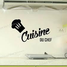 vinyl mural cuisine cuisine du chef wall stickers vinyl wall decals picture