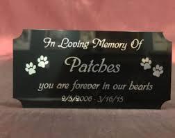In Loving Memory Dog Tags Pet Memorial Etsy
