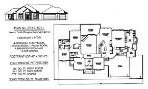 4 bedroom 4 bath house plans glamorous house plans 4 bedroom 1 story images best inspiration