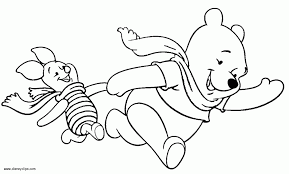 disney winter coloring pages coloring
