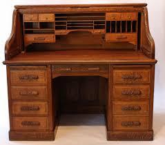bureau americain bureau americain xxème comprenant deux colonnes de quatre tiroirs en