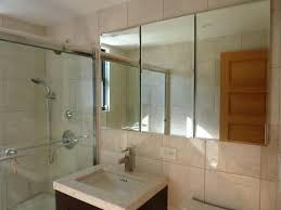 frameless mirrored medicine cabinet recessed frameless inset medicine cabinet frameless recessed mirrored