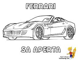 workhorse ferrari coloring pages ferrari free ferrari car