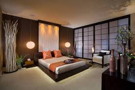 spa bedroom decorating ideas spa style master bedroom with shoji screen and pendant bedside