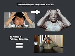 Mind Blowing Meme - jackie chan mind blown meme 3d print bwywrzd5p by soulstice