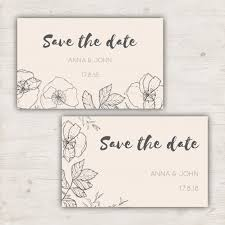 save the date cards free minimalist save the date cards for a wedding vector free