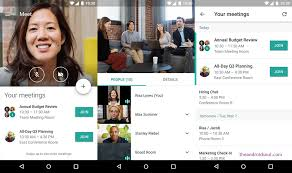 hangouts app for android hangouts meet android app now available on play store