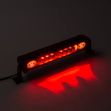 orange led light bar mono bl red 50 270w led light bar offroad 4x4 seward offroad