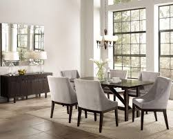 Leather Dining Room Chairs Design Ideas Grey Dining Room Chair Black And Chairs Table Gray Upholstered