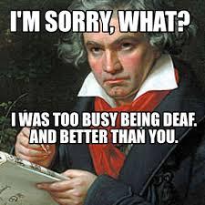 Beethoven Meme - meme creator beethoven meme generator at memecreator org