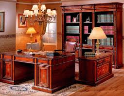 Cherry Home Decor Awesome Apartment Home Office Interior Design Showing Off Classic