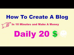 Make Money Online Blogs - how to create a blog for free and make money online blogging