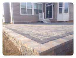 Raised Patio Construction Project Spotlight Kingdom Landscaping