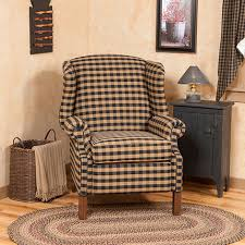 incredible reclining wingback chair with wingback recliner chair