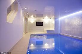 Inside Swimming Pool Mario Balotelli Inside The Striker U0027s Mansion Complete With