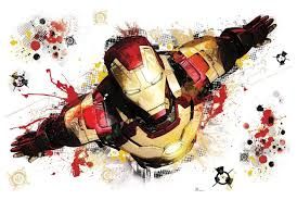 iron man 3 giant peel and stick wall decal roommates rmk2238slm iron man 3 graphic peel and stick giant wall decals