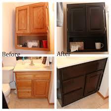 My Painted Bathroom Vanity Before - staining oak bathroom cabinets bathroom cabinets house and bath