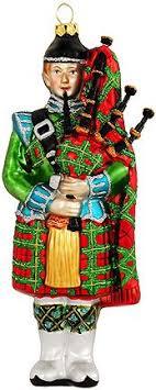 buy scottish santa personalized santa ornaments gifts