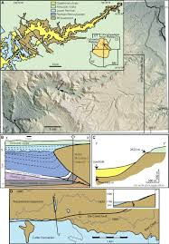 Ouachita Mountains Map Load Induced Subsidence Of The Ancestral Rocky Mountains Recorded