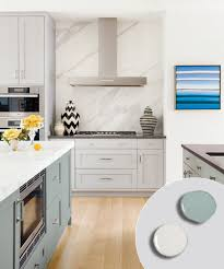 Gray Painted Kitchen Cabinets by 12 Kitchen Cabinet Color Combos That Really Cook Farrow Ball