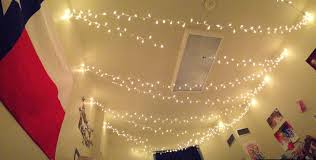 Hanging Christmas Lights In Bedroom by 10 Easy Decor Ideas To Take Your Dorm From Jail Cell To Palace