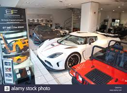 luxury sports cars bob forstner luxury sports car show room on park lane london