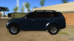 mitsubishi sports car 2015 mitsubishi pajero sport dakar 2015 for gta san andreas