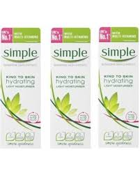 simple hydrating light moisturizer amazing deal on simple sensitive skin experts kind to skin hydrating