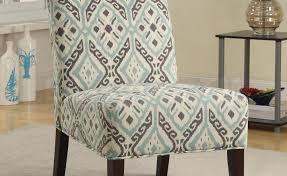 Patterned Armchair Blizodo Bebeto Accent Chairs With Ottoman Accent Chairs Living